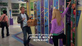 Josh and Maddie at her Locker