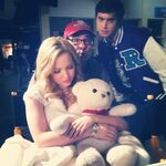 Dove Cameron Liv on Set