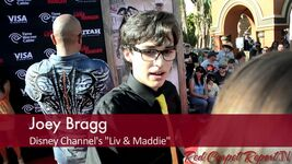 Joey bragg at the world premiere of the lone ranger joeybrag