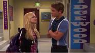 Josh and Maddie in Hallway