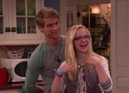 Maddie and Josh in the Kitchen