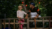 Maddie and Josh in Treehouse