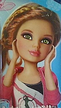 File:Doll green eyes in tennis outfit auburn wig.jpg