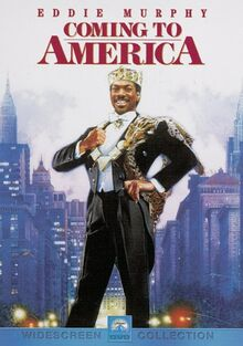 Coming to America 1988 DVD Cover