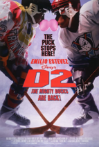 Disney's D2 The Mighty Ducks 1994 Poster
