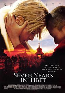 Seven Years in Tibet 1997 Poster