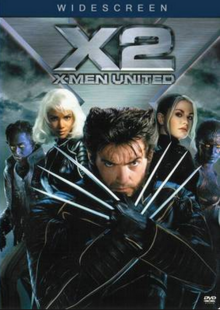 X2 2003 DVD Cover
