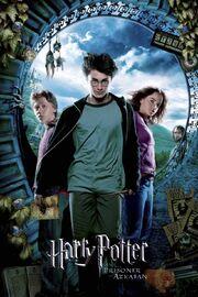 Harry Potter and the Prisoner of Azkaban 2004 DVD Cover