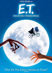E.T. The Extra-Terrestrial 1982 DVD Cover
