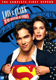 Lois & Clark The New Adventures of Superman 1993 DVD Cover