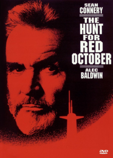 The Hunt for Red October 1990 DVD Cover