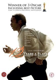 12 Years a Slave 2013 DVD Cover