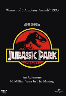 Jurassic Park 1993 DVD Cover