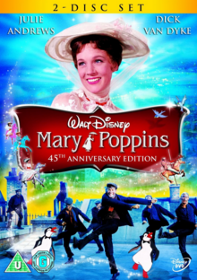 Mary Poppins 1964 DVD Cover