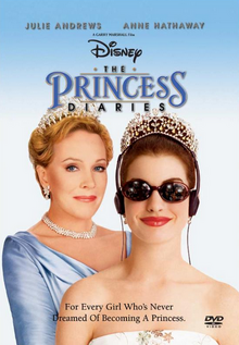 The Princess Diaries 2001 DVD Cover
