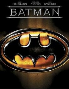 Batman 1989 DVD Cover