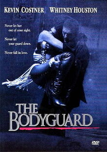 The Bodyguard 1992 DVD Cover