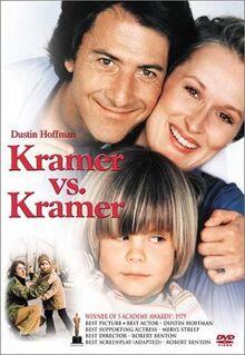 Kramer vs. Kramer 1979 DVD Cover