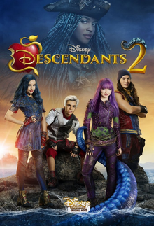 Disney Descendants 2 2017 Poster