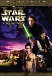 Star Wars Episode VI Return of the Jedi 1983 DVD Cover