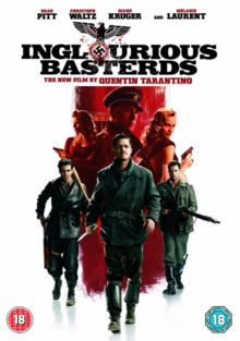 Inglourious Basterds 2009 DVD Cover