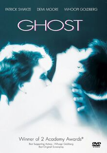 Ghost 1989 DVD Cover