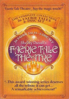 Shelley Duvall's Faerie Tale Theatre 1982 DVD Cover