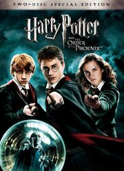 Harry Potter and the Order of the Phoenix 2007 DVD Cover
