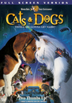 Cats & Dogs 2001 DVD Cover