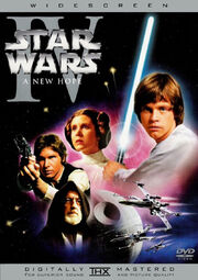 Star Wars Episode IV A New Hope 1977 DVD Cover