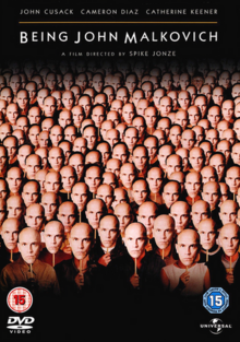 Being John Malkovich 1999 DVD Cover