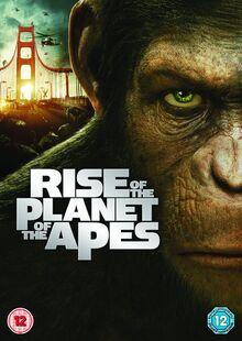 Rise of the Planet of the Apes 2011 DVD Cover