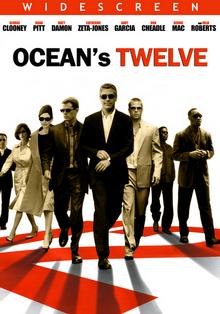 Ocean's Twelve 2004 DVD Cover