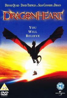 Dragonheart 1996 DVD Cover