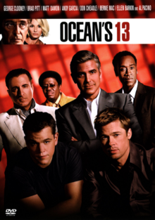 Ocean's Thirteen 2007 DVD Cover