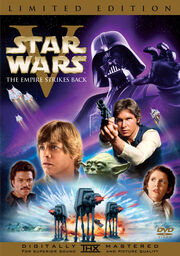 Star Wars Episode V The Empire Strikes Back 1980 DVD Cover