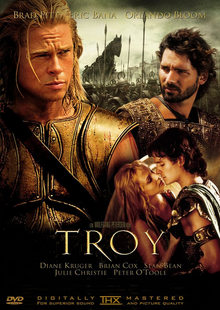 Troy 2004 DVD Cover