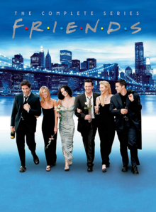 Friends 1994 DVD Cover
