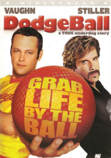 Dodgeball A True Underdog Story 2004 DVD Cover