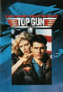 Top Gun 1986 DVD Cover