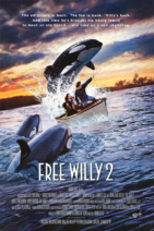 Free Willy 2 The Adventure Home 1995 Poster