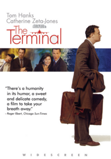 The Terminal 2004 DVD Cover