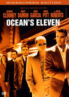 Ocean's Eleven 2001 DVD Cover