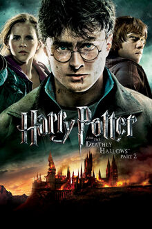 Harry Potter and the Deathly Hallows Part 2 2011 DVD Cover