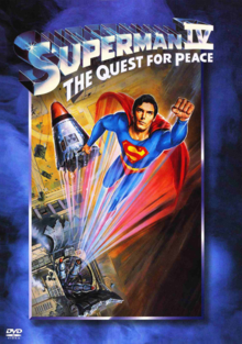 Superman IV The Quest for Peace 1987 DVD Cover