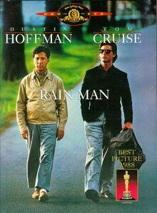 Rain Man 1988 DVD Cover