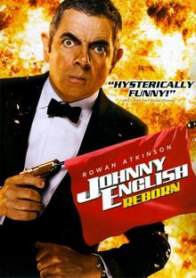 Johnny English Reborn 2011 DVD Cover