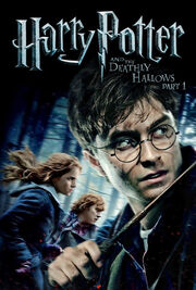 Harry Potter and the Deathly Hallows Part 1 2010 DVD Cover