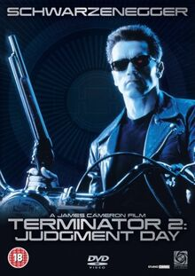 Terminator 2 Judgment Day 1991 DVD Cover