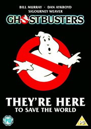 Ghostbusters 1984 DVD Cover